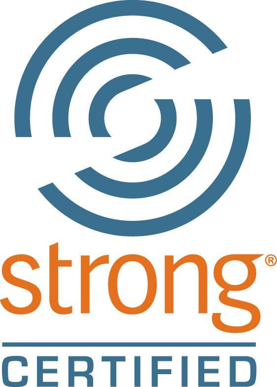 Strong Certified Logo (CMYK)