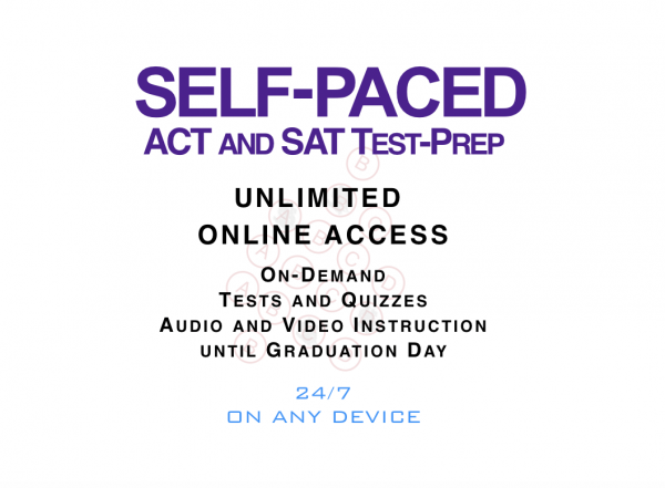 Self Paced Test Prep