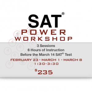 SAT Power Workshop