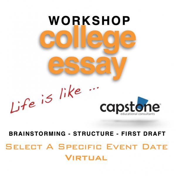 College Essay Workshop Virtual