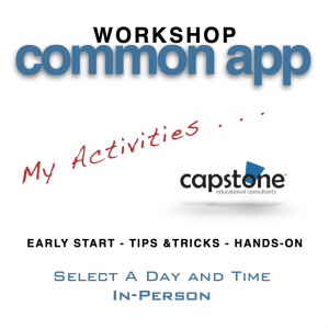 Common App Workshop